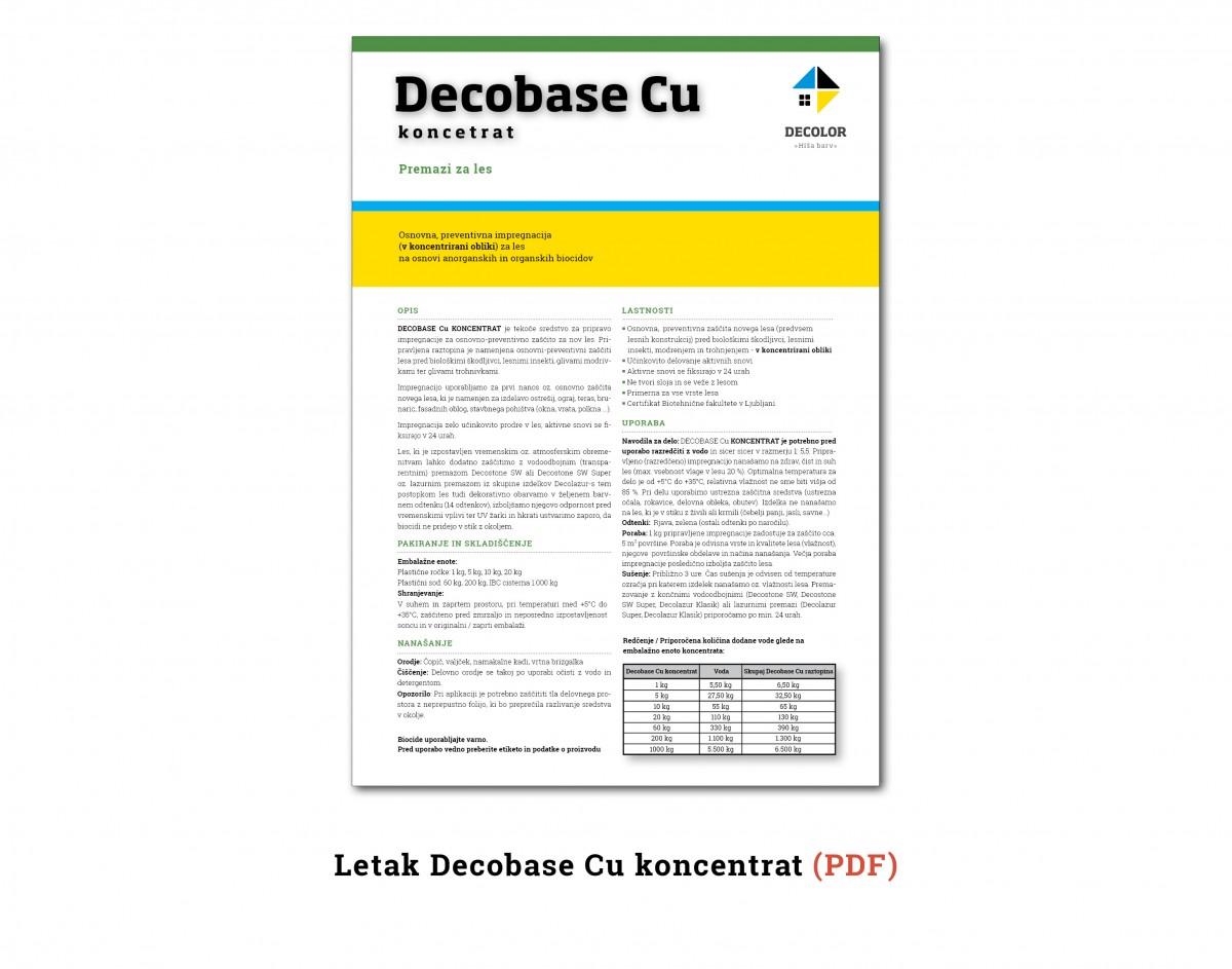 DecobaseCuKoncentrat