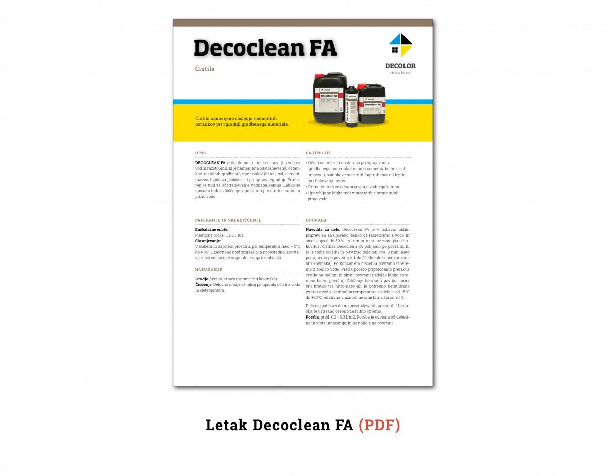 DecocleanFA
