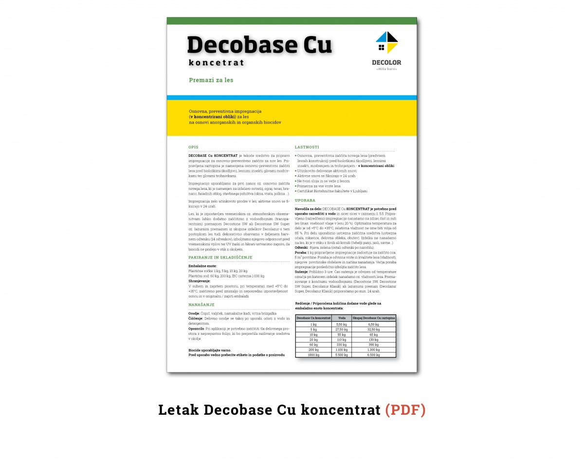 DecobaseCuKoncentrat